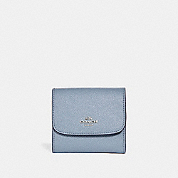 SMALL WALLET - SILVER/DUSK 2 - COACH F15622