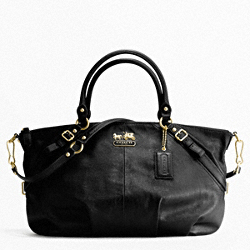 MADISON LEATHER LARGE SOPHIA SATCHEL