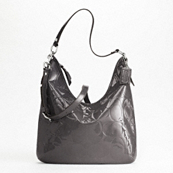 PATENT EMBOSSED CONVERTIBLE HOBO