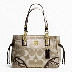 COLETTE SIGNATURE SATEEN CARRYALL
