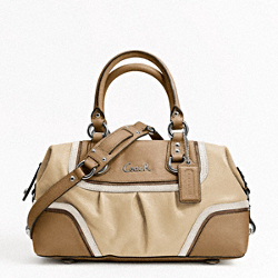 ASHLEY SPECTATOR LEATHER SATCHEL
