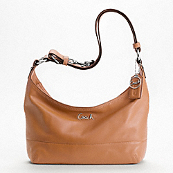 LEATHER PIECED E/W DUFFLE