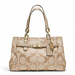 COACH CHELSEA SIGNATURE JAYDEN CARRYALL - ONE COLOR - F17806