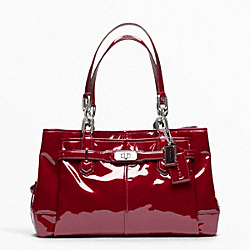 COACH CHELSEA PATENT LEATHER JAYDEN CARRYALL - ONE COLOR - F17855