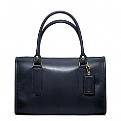 MADISON SATCHEL IN LEATHER - f17995 - 29661