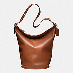 COACH CLASSIC DUFFLE BAG IN LEATHER - BRITISH TAN - COACH F17998