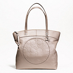 LAURA LEATHER TOTE