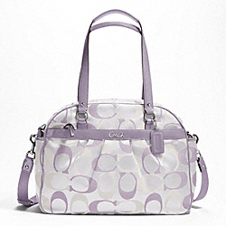 ADDISON 3 COLOR SIGNATURE BABY BAG TOTE