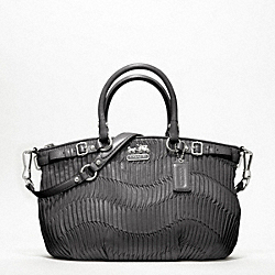 COACH MADISON GATHERED LEATHER SOPHIA SATCHEL - ONE COLOR - F18620