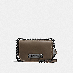 COACH SWAGGER SHOULDER BAG 20 - DK/FATIGUE - COACH F18858