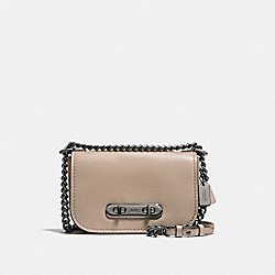 COACH SWAGGER SHOULDER BAG 20 - DK/STONE - COACH F18858