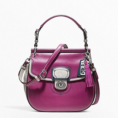 COACH f19031 LEATHER COLORBLOCK NEW WILLIS