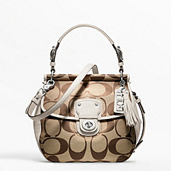 COACH SIGNATURE NEW WILLIS - ONE COLOR - F19034