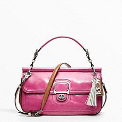COACH LEATHER COLORBLOCK CITY WILLIS - ONE COLOR - F19035