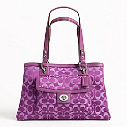 PENELOPE SIGNATURE SATEEN CARRYALL