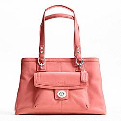 PENELOPE LEATHER CARRYALL