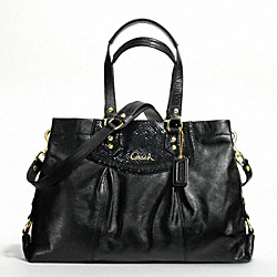 ASHLEY LEATHER CARRYALL