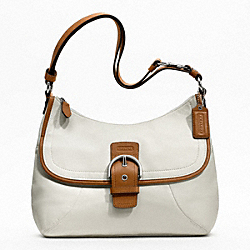 SOHO LEATHER FLAP DUFFLE