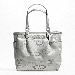 GALLERY OPTIC METALLIC SIGNATURE N/S TOTE