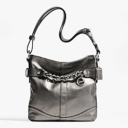 LEATHER CHAIN DUFFLE