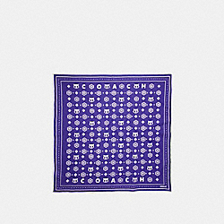 VARSITY PATCH BANDANA - f19752 - PURPLE