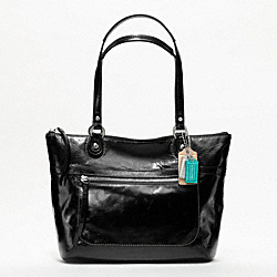 COACH POPPY LEATHER SMALL TOTE - ONE COLOR - F19827