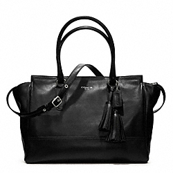COACH LEATHER LARGE CANDACE CARRYALL - ONE COLOR - F19888
