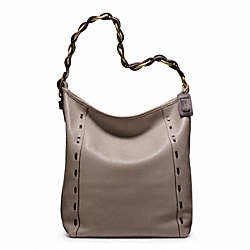COACH PINNACLE BOHEMIAN LEATHER LARGE DUFFLE - ONE COLOR - F19904