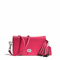 COACH PENNY SHOULDER PURSE IN LEATHER - ONE COLOR - F19914