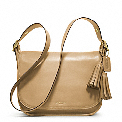 COACH LEATHER PATRICIA - BRASS/SAND - F19921