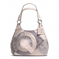 INLAID PATCHWORK HOBO