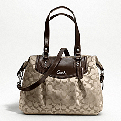ASHLEY SIGNATURE SHOULDER BAG