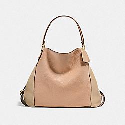 EDIE SHOULDER BAG 42 - LI/BEECHWOOD - COACH F20334