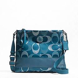SIGNATURE STRIPE 3 COLOR SIGNATURE METALLIC FILE BAG