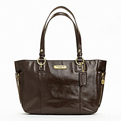 GALLERY PATENT ZIPPER TOTE