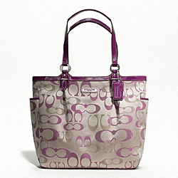 GALLERY OPTIC SIGNATURE N/S TOTE