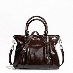 ASHLEY PATENT MINI TOTE