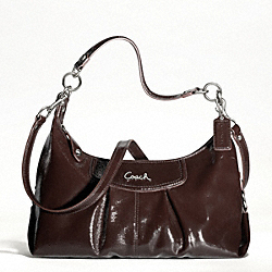 ASHLEY PATENT CONVERTIBLE HOBO