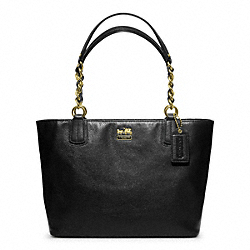 MADISON LEATHER TOTE - f20466 - 24926