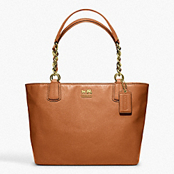 COACH MADISON LEATHER TOTE - ONE COLOR - F20466