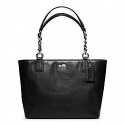 MADISON LEATHER TOTE COACH F20466