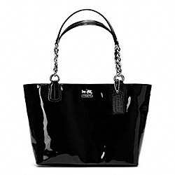 COACH MADISON TOTE IN PATENT LEATHER - ONE COLOR - F20484