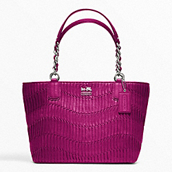 COACH MADISON GATHERED LEATHER TOTE - ONE COLOR - F20522