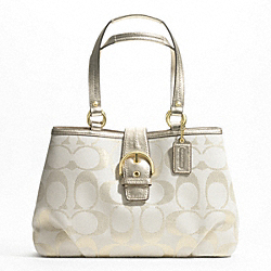 SOHO SIGNATURE METALLIC CARRYALL