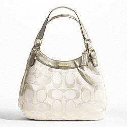 SOHO SIGNATURE METALLIC LARGE HOBO