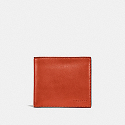 COIN WALLET - DEEP ORANGE - COACH F20955