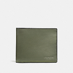 3-IN-1 WALLET - MOSS - COACH F20956