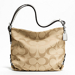 COACH 24CM SIGNATURE DUFFLE - ONE COLOR - F21023