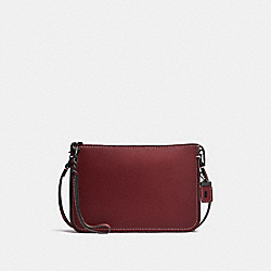 SOHO CROSSBODY - BORDEAUX/BLACK COPPER - COACH F21035
