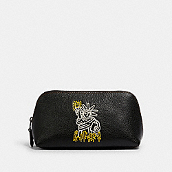 KEITH HARING COSMETIC CASE 17 - QB/BLACK - COACH F21067